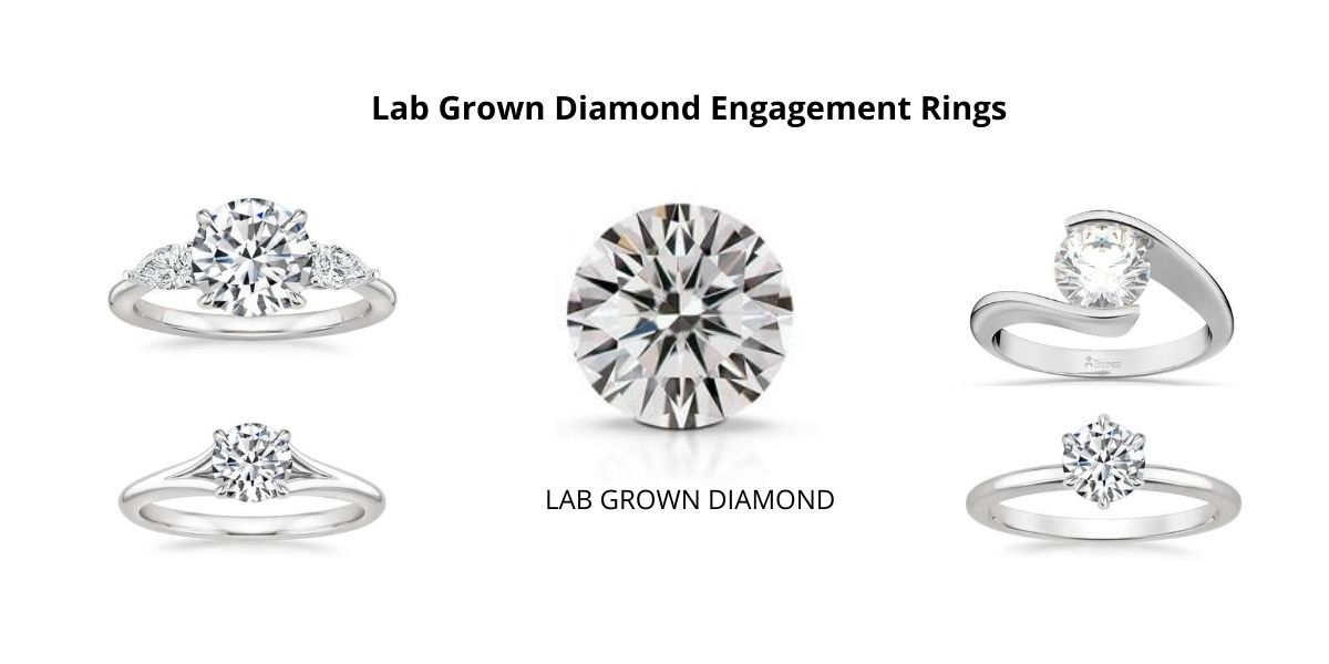8 Best Lab Grown Diamond Engagement Rings Ideas